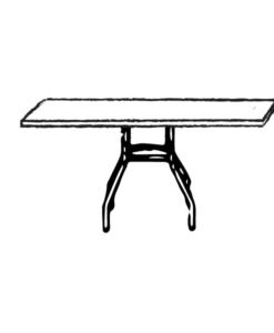 K-40x72F Table