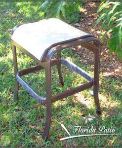 E-71 Armless Backless Bar Chair