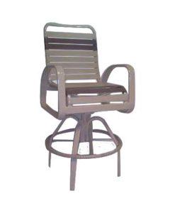 Eclipse Strap Swivel Bar Chair - EC-375